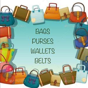 Handbags - Variety of Bags, Purses, Wallets and Belts🎉